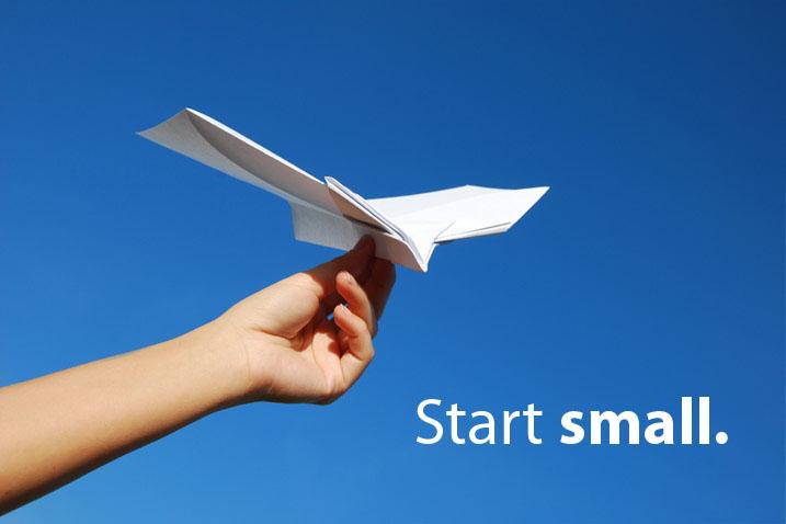 Think Big. Start Small. Scale Fast. - startupinitiative.com work-life balance